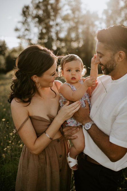 family session in Surrey bc